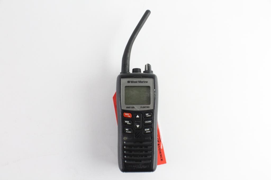 West Marine VHF155 Two Way Radio | Property Room