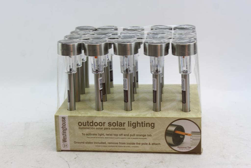 Westinghouse Outdoor Solar Lighting 20 Pieces