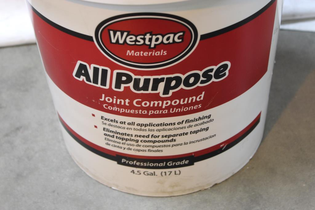 Westpac Materials All Purpose Joint Compound New Property Room