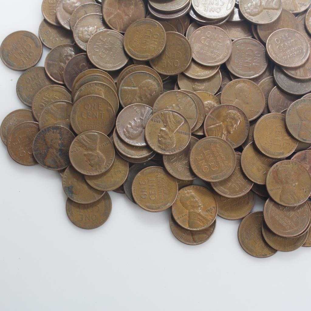 Wheat Pennies, 1+ Pound | Property Room