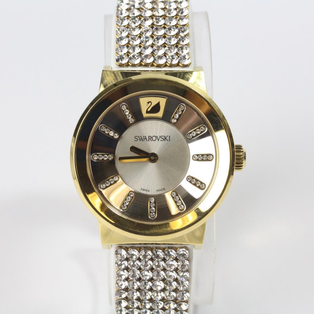 White swarovski crystal watch property room for Swarovski crystals watch