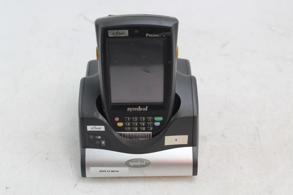 Windows Mobile Pocket Pc Symbol Scanner Property Room