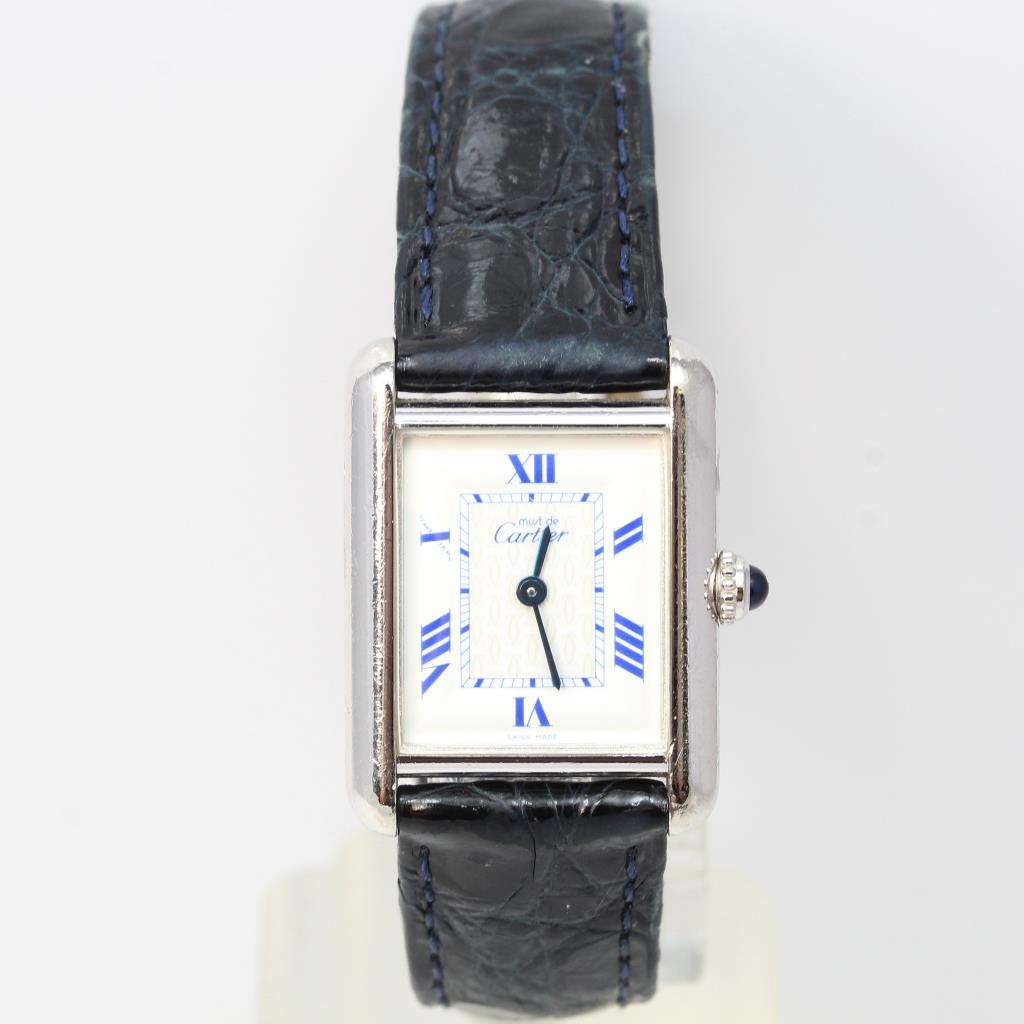 5b2ffe40e5e Women s Cartier Must De Cartier Tank Watch - Evaluated By Independent  Specialist