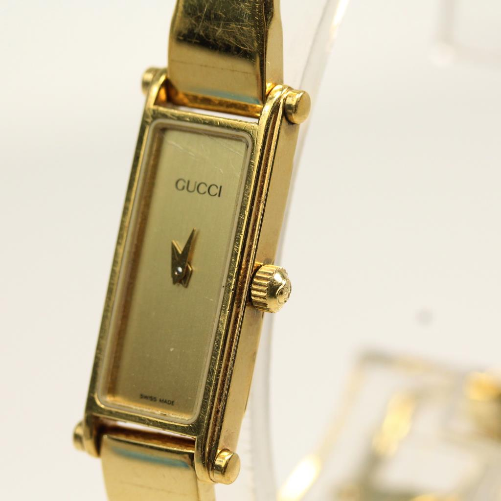 8f2e64bded1 Womens Gold Colored Gucci 1500 Watch