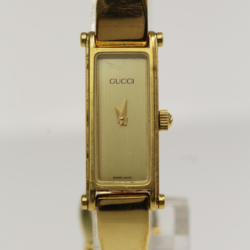 49b7cf1a9d6 Womens Gold Colored Gucci 1500 Watch