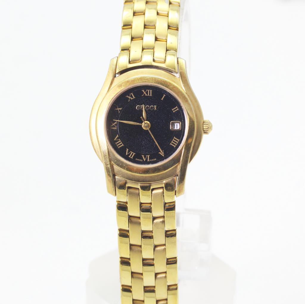 9dabc6227 Women s Gucci 5400L Gold Plated Watch