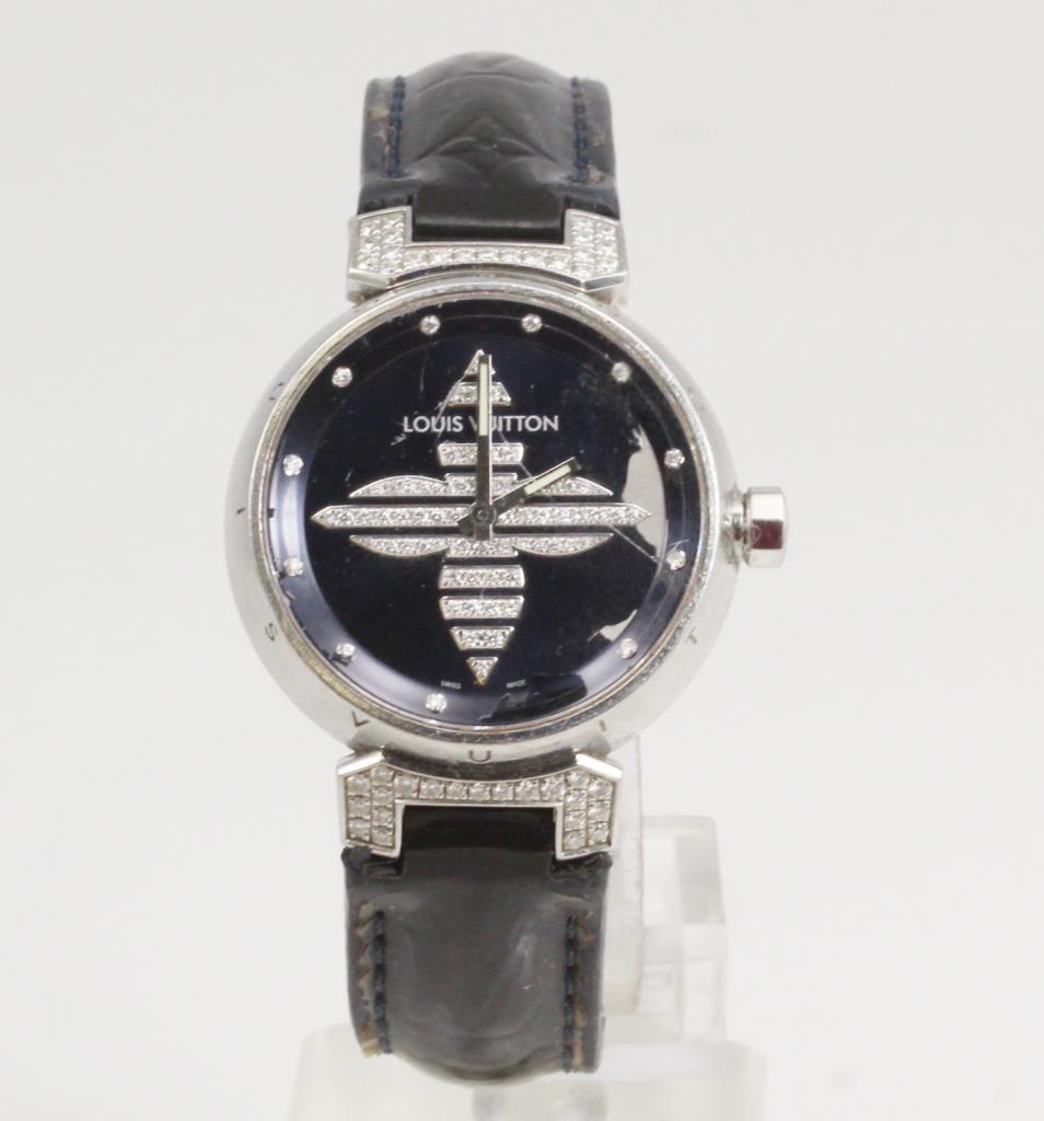 9acb642f6e7e Women s Louis Vuitton Diamond Watch