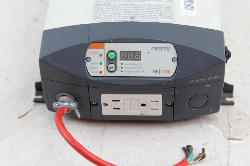 Xantrex Freedom 806-1840 HF 1800 Inverter Charger | Property Room on
