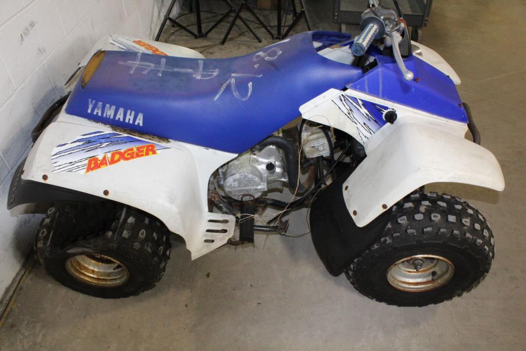 Yamaha Atv For Sale >> Yamaha Badger ATV | Property Room