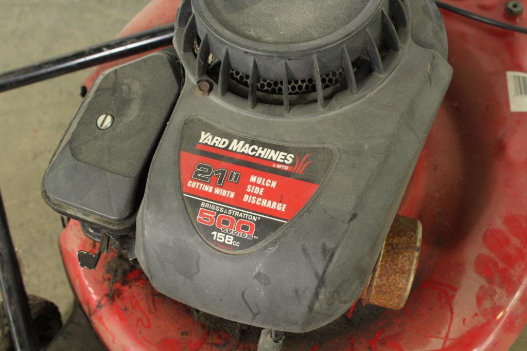 Yard Machines 500 Series 158cc Lawn Mower Property Room