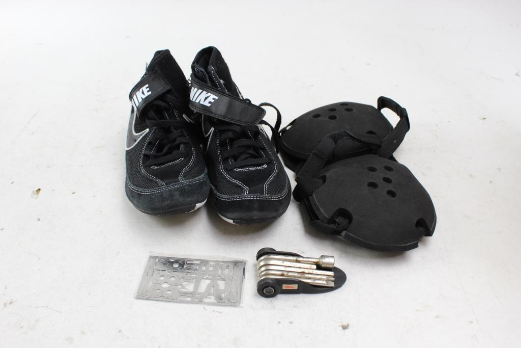 4f5ae6be45dd9 Youth Nike Kids' Speedsweep VII Wrestling Shoes, Oasics Headgear: 2 ...