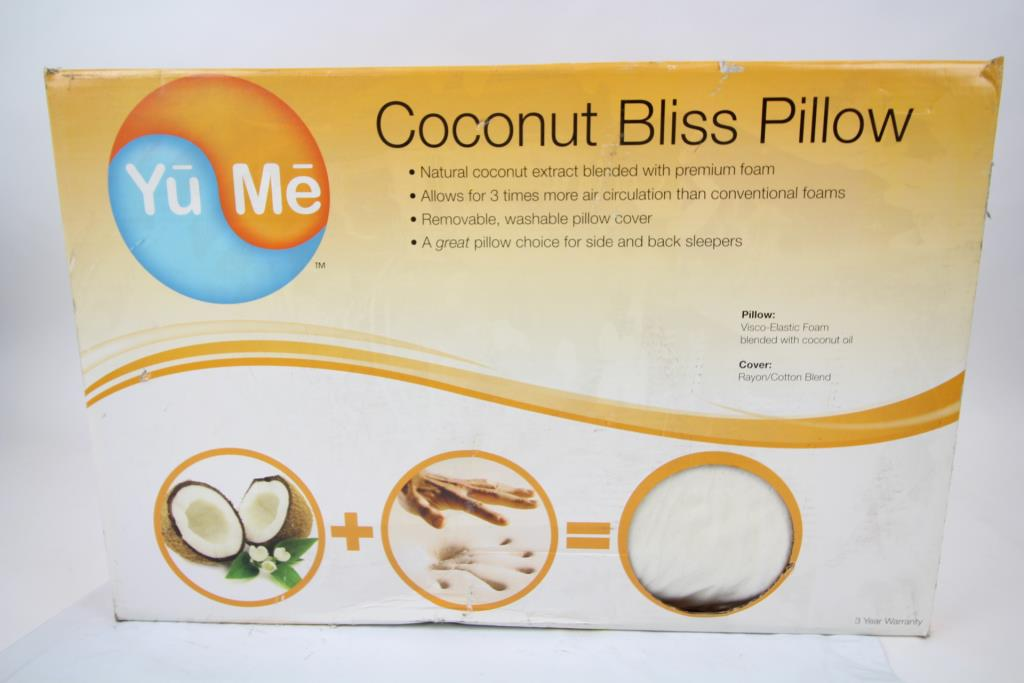 Yu Me Coconut Bliss Pillow Property Room