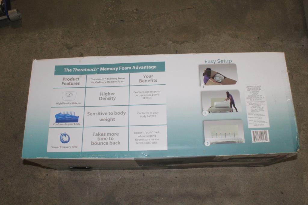 Zinus Spa Sensations 8 Memory Foam Mattress Full Size Property Room