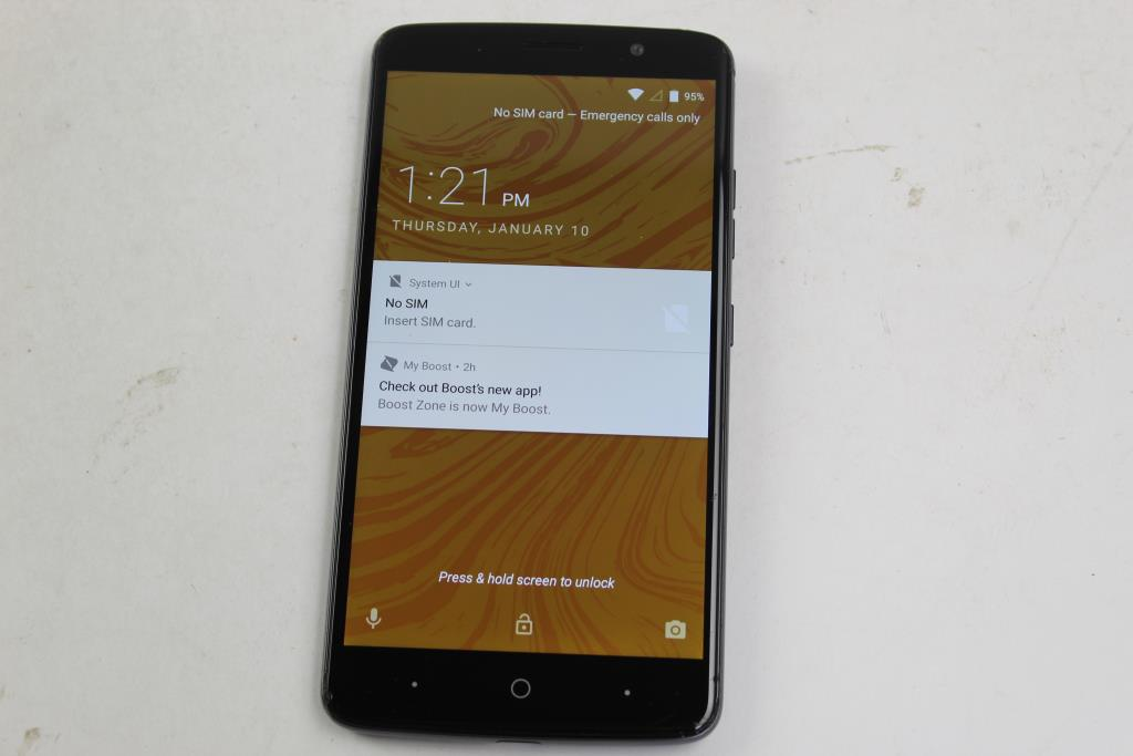 ZTE Max XL, 16GB, Boost Mobile   Property Room