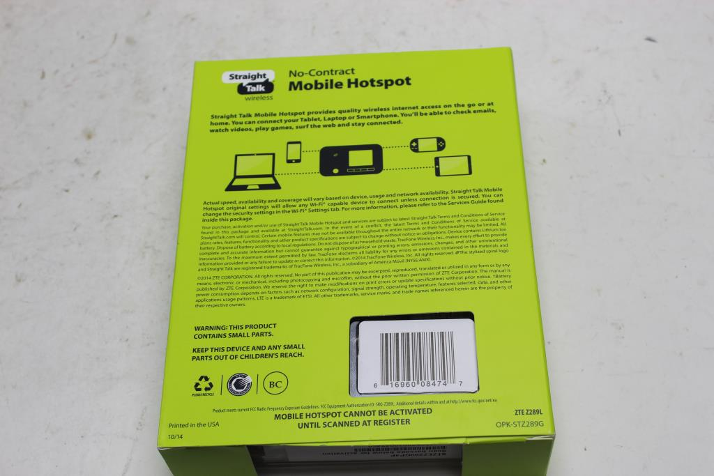 Zte Mobile Hotspot | Property Room