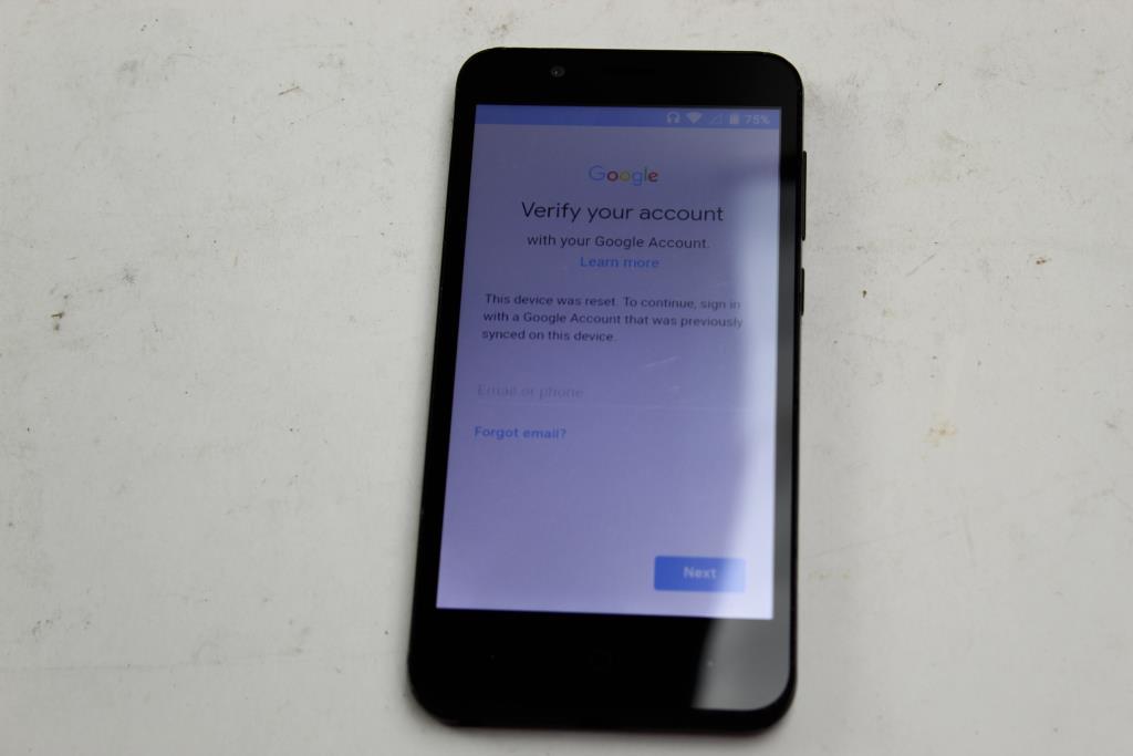 ZTE Tempo X, 8GB, Assurance Wireless, Google Account Locked