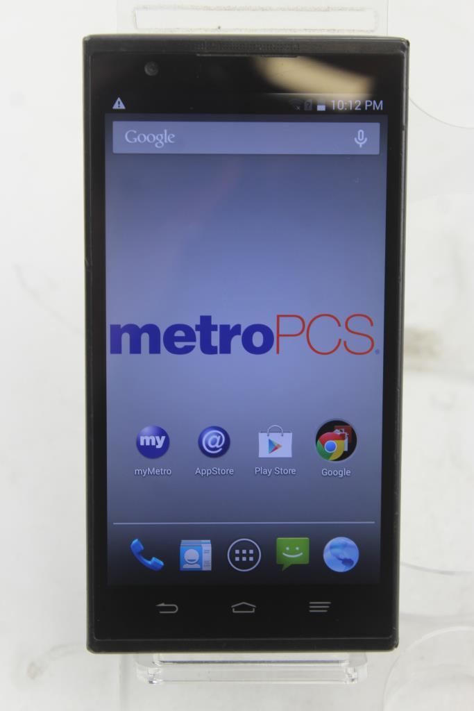 ZTE Zmax Z970 Android Phone, 16GB, MetroPCS | Property Room