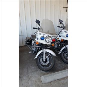 1999 Kawasaki Police 1000 Motorcycle (Farmersville, CA