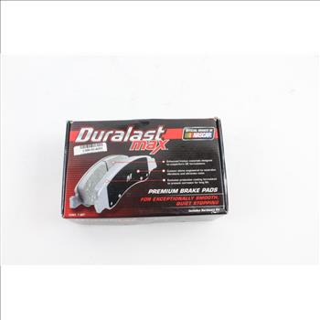 Duralast Brake Pads >> Duralast Brake Pads Property Room