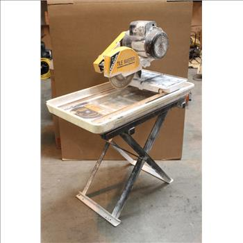 Felker Tile Master Tm1ht 10 Xl Wet Saw 173421