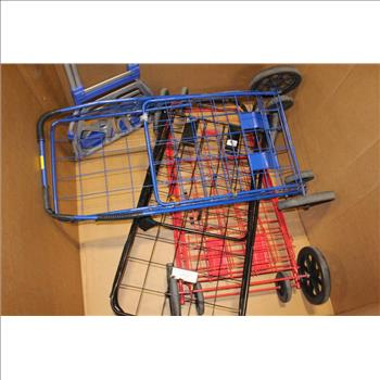 7db718a7a6e6 GNA USA Shopping Carts And More, 4 Pieces   Property Room