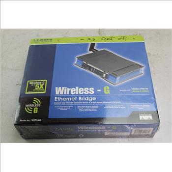 Linksys Wireless Ethernet Bridge | Property Room