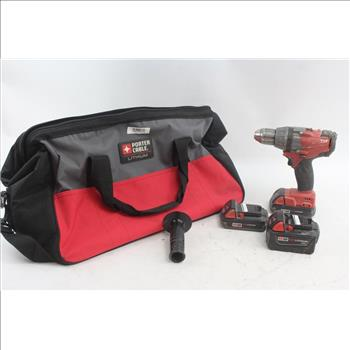 Milwaukee 1 2 Drill Driver Batteries In Porter Cable Tool