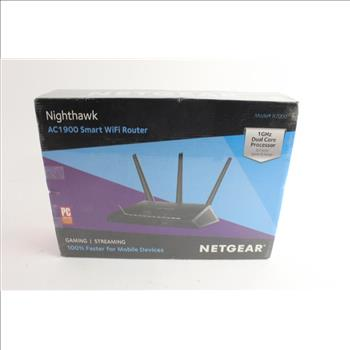 Netgear Nighthawk Smart Wifi Router | Property Room