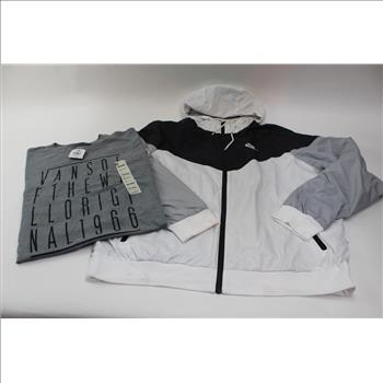 45b4f32d5f nike-mens-windrunner-jacket-and-vans-shirt-2-pieces