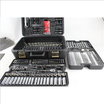 Pittsburgh Sockets, Wrenches, Ratchets, Screwdriver Set: 200