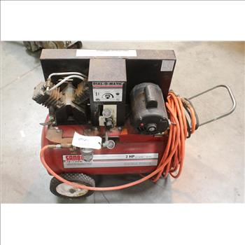 Sanborn Magna Force 2hp Air Compressor With Hose