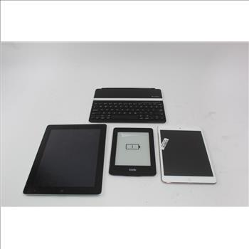 Tablets: Apple Ipad, Amazon Kindle: 3 Items (Sold For Part