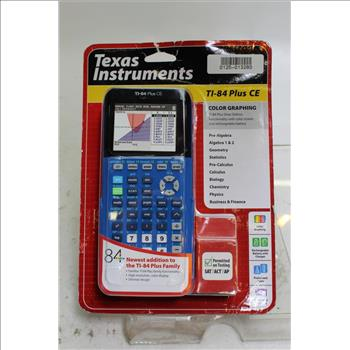 Texas Instruments Color Graphing Calculator | Property Room