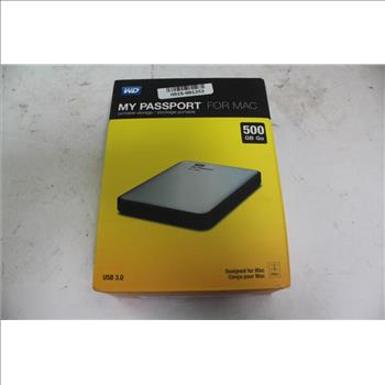 Western Digital My Passport For Mac Portable Storage