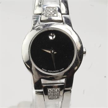 Permalink to Movado Womens Amorosa Diamond Watch