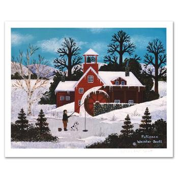 """Jane Wooster Scott! """"Patience"""" Ltd Ed Lithograph, Numbered and Hand Signed with Certificate!"""