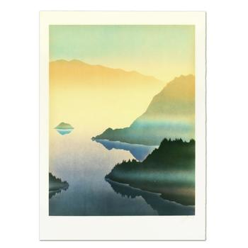 "Rand - ""Lake"" Limited Edition Lithograph, Numbered and Hand Signed. List $995"