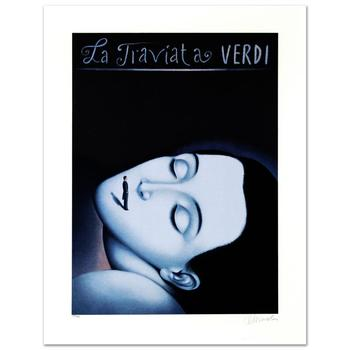 "Rafal Olbinski! ""La Traviata I""  Ltd Ed Lithograph Numbered and Hand Signed, with Cert! List $1,050"