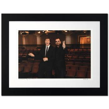 "Rob Shanahan! ""Paul McCartney & Ringo Starr"" Framed Limited Edition Giclee, Numbered and Hand Signed with Certificate! $500"