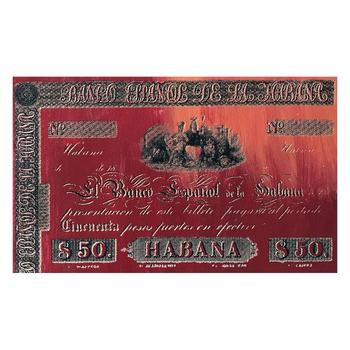 """Steve Kaufman """"Habana Cigar"""" One of a kind Hand Painted Silkscreen Numbered 21/50 and Hand Signed."""