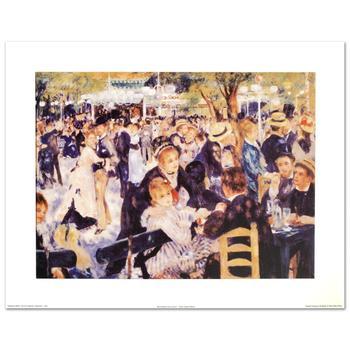 """Renoir (1841-1919)! """"Bal du Moulin de la Galette"""" Fine Art Print , Using EncreLuxe Printing Process! List $150"""