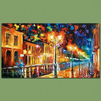 """Leonid Afremov """"Infinity"""" Limited Edition Giclee on Gallery Wrapped Canvas, Numbered and Signed; COA."""