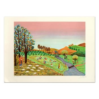 """Colagone - """"Le Borges"""" Limited Edition Lithograph, Numbered and Hand Signed. $995"""