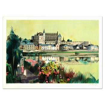 """Robert Vernet Bonfort - """"The River"""" Limited Edition Lithograph, Numbered and Hand Signed! List $995"""