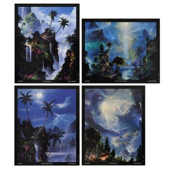 Dale Terbush - Set of Four Mini Prints!