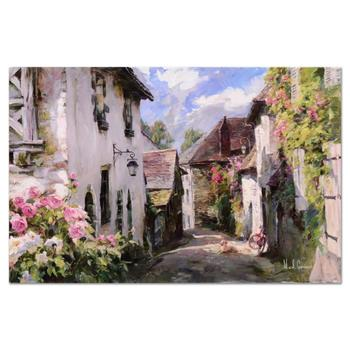 """Garmash, """"Morning in Provence"""" Hand Embellished Ltd Ed on Canvas, Numbered and Hand Signed with Letter of Authenticity. $995"""