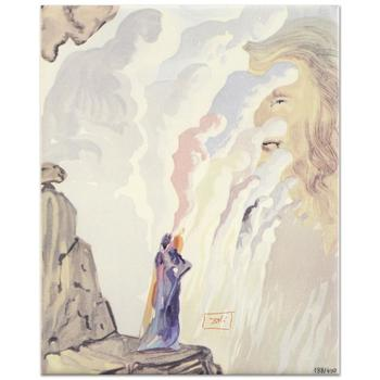 """Salvador Dali (1904-1989) - """"The Beauty of Sculptures"""" SOLD OUT Ltd Ed Ceramic Tile, Numbered with COA! List: $450"""