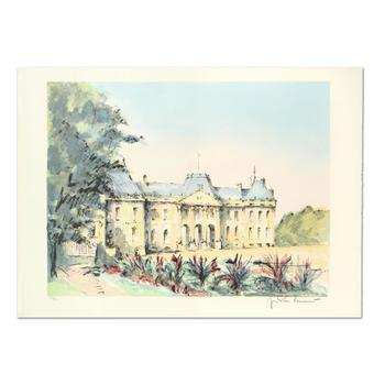 """Laurant - """"Chateu Leunville"""" Limited Edition Lithograph, Numbered and Hand Signed. List $995"""