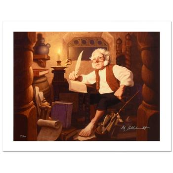 """Brothers Hildebrandt! """"Bilbo At Rivendell"""" Ltd Ed Giclee (38"""" x 31"""") on Canvas, Numbered and Hand Signed w/Cert! List $995"""