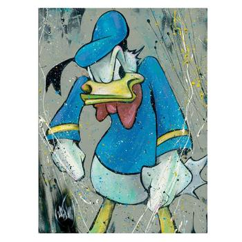 """David Garibaldi & Disney - """"King of Quack"""" Ltd Ed Giclee on Gallery Wrapped Canvas, No. and Hand Signed with/COA! $495"""